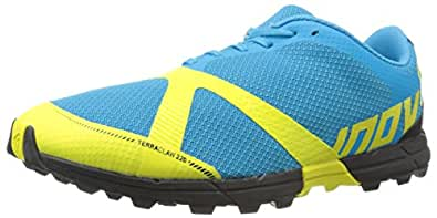 Inov-8 Men's Terraclaw 220 Trail-Running Shoe, Blue/Lime/Black, 8 M US