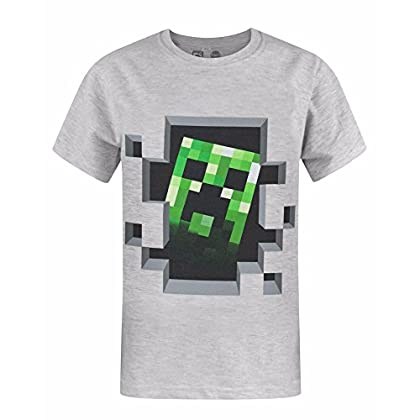Minecraft Camiseta de Manga Corta Oficial Model...