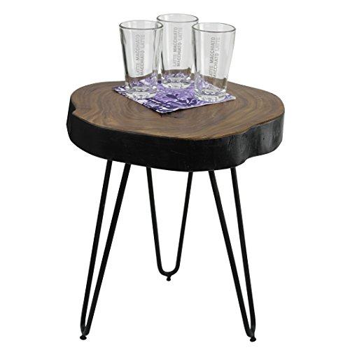 Wohnling wl1,548 legno Sheesham - Tavolino, 35 x 35