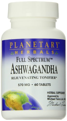 Planetary Formulas Full Spectrum Ashwagandha 570 mg 60 Tabletten - Compound-60 Tabletten