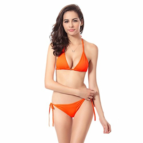 Donne benda bikini set push-up reggiseno costumi da bagno costume ...