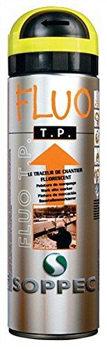 Preisvergleich Produktbild Markierungsspray Fluo TP rot 500ml 9-10 Monate sichtbar für Baustellen,  12 Stück