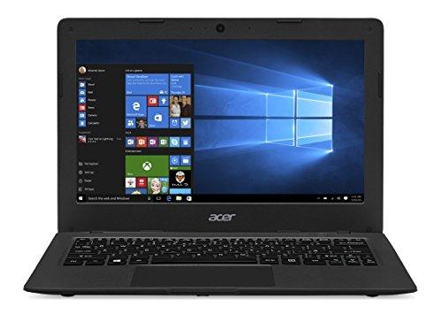 Acer Aspire One Cloudbook One 1-131-C0A6 - Ordenador portátil (Portátil, Touchpad, Windows 10 Home, Polímero de litio, 64-bit, Negro), teclado francés AZERTY - [Importado de
