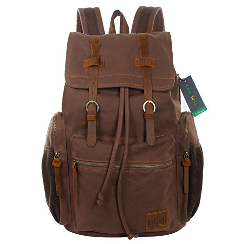 lifewit-17-inch-large-canvas-backpack-unisex-vintage-casual-rucksack-laptop-bags-school-bookbag-hiki