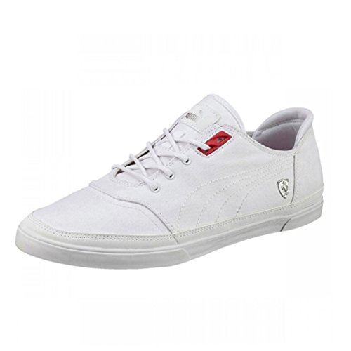 b853d2bda58 Puma Bombato Ferrari SF Men s Trainers Canvas Shoes (11 UK