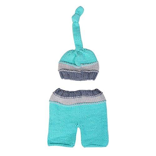 neugeborenes baby häkeln hut modefotografie kostüm setlet baby warm anziehen, das geschenk gottes ist schöner by small fish (Ein Geschenk Von Gott Kostüm)