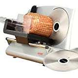 Cooks Professional Meat Slicer Machine for Home Use, Quiet 150W Electric Motor