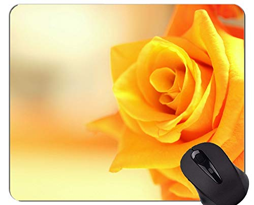 Gaming Mouse Pad Benutzerdefinierte, Natur, Rose, Blume - Genähte Kanten