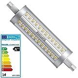 PHILIPS LED Lampe 14 Watt SMD Halogenersatz 118mm R7s 840 dimmbar 2000 LUMEN