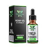 L'huile de chanvre aux herbes et à l'éthique laisse tomber 10% 1000MG haute résistance 10 ml - Grande dégustation