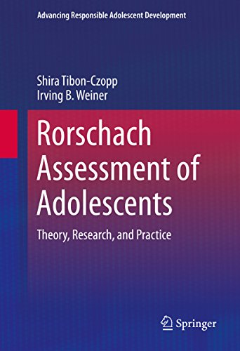 Rorschach Assessment Of Adolescents: Theory, Research, And Practice (advancing Responsible Adolescent Development) por Shira Tibon-czopp epub