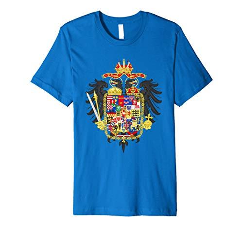 Habsburg Wappen T-Shirt römischen Kaiser Graphic Tee