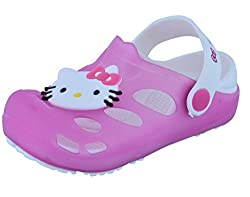 Lil Firestar Girls Casual Kitty Eva Clogs ( Age Group Up to 4.5 Years)