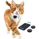 Loc8tor Tabcat Pack Tracker - Dispositivo di localizzazione wireless per animali domestici, gatti, gattini, più preciso del GPS