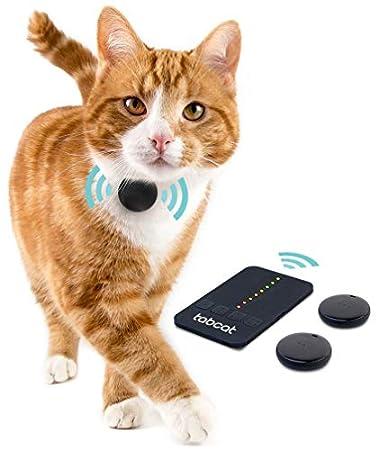 Loc8tor Tabcat Pack Tracker – Drahtloses Tracking-Gerät für Katzen, Kätzchen und Haustiere, Genauer als GPS