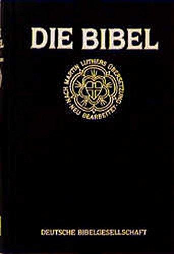 Luther-Bibel 1984 / Taschenausgabe. Mit Apokryphen: Bibelausgaben, Lutherbibel Taschenausgabe mit Apokryphen, schwarz (Nr.1201)