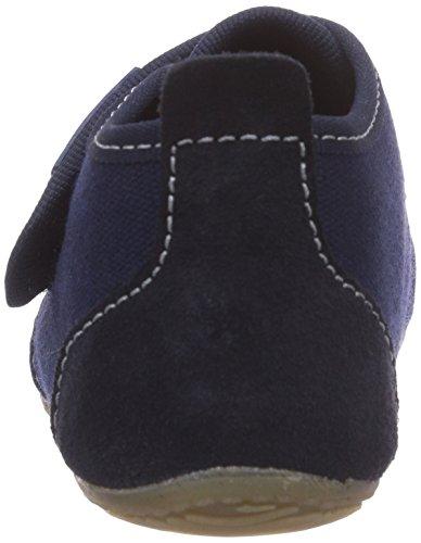 Living Kitzbühel Klettschuh unifarben 1910, Pantofole Unisex bambini Blu (Blau (marine 570))