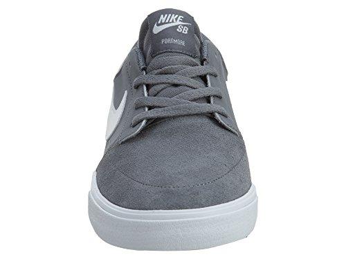 Nike SB Portmore II Solar, Chaussures de Skateboard Homme Gris