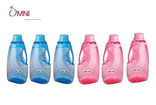 Nayasa Superplast Plastic Fontana PET Bottle 1.5 Litre, Set of...