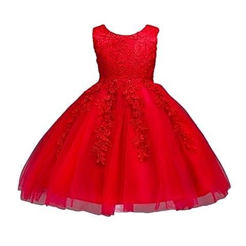 WanYang Robe De Soirée Filles Princesse Pour Enfant Fleur Fille Princesse Costume De Cérémonie Spectacle De Mariage