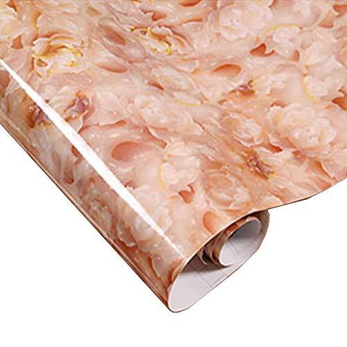 Braun Granit Kontaktpapier für Arbeitsplatten creme braun Marmorstruktur 23.62