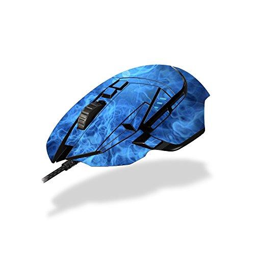 MightySkins Schutzfolie für Logitech-Sticker, 100 erhältlich Blue Mystic Flames Logitech G502 Proteus
