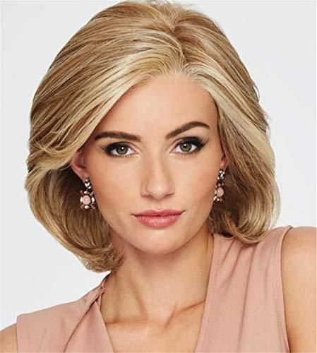 ELEGENCE-Z Frauen Perücken, Europa und Amerika natürliche Bequeme Frau Kurze Volumen Flauschige Kopfbedeckung Chemische Faser Haar Perücke ()