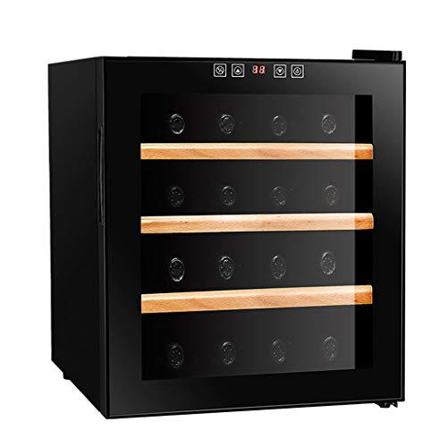 JCOCO - Armario termoeléctrico para vinos de 16 botellas - Armario para vinos tintos y blancos - Gabinete para vinos...