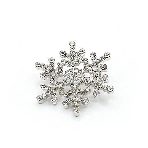 yokirin handgefertigt Elk Brosche Design Kostüm Schmuck Funkelnde Kristall Weihnachten Brosche Pin
