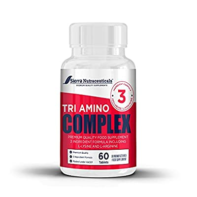 Premium L-Arginine L-Ornithine L-lysine. For Muscle Growth, Vascularity & Energy - Powerful Tri-Amino Complex. Nitric Oxide Booster. To Train Longer & Harder. Better Workouts.Supports Energy Production.Helps Improves Athletic Performance.Immune Support,Pr