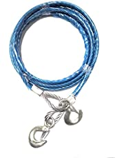 Breewell Emergency Tow Pull Rope Snatch Strap for Car - 14mm x 4m, 8000kgs (8 tons)
