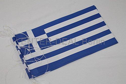Preisvergleich Produktbild 5 Meter FAHNENKETTE - GRIECHENLAND -