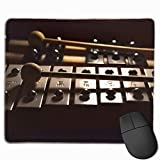 Deglogse Gaming-Mauspad-Matte, Smooth Mouse Pad Xylophone Mobile Gaming Mousepad Work Mouse Pad Office Pad