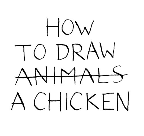 How to Draw a Chicken: jean-vincent senac (How To Draw A B)