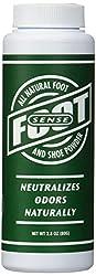 Foot Sense All Natural Smelly Foot & Shoe Powder-2.8 Oz