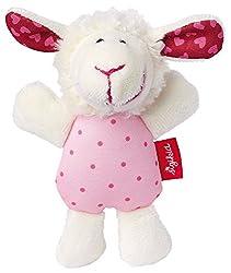 Sigikid-Kategorie: IQErster Spielspaß für kleine Tierfreunde. Der süße Babygreifling Schaf eignet sich prima für die ersten Greifversuche ab dem 3. Monat. Dank der tollen Form, liegt er gut und weich in Hand. Wird das kleine Stofftier bewegt, ertönt ...