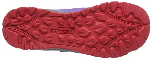 Merrell Unisex-Kinder Capra Bolt Alternate Closure Waterproof Trekking-& Wanderhalbschuhe Violett (Purple)