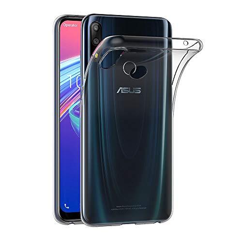 AICEK Hülle Compatible für ASUS Zenfone Max Pro (M2) ZB631KL Transparent Silikon Schutzhülle für ASUS Zenfone Max Pro (M2) Case Clear Durchsichtige TPU Bumper ASUS ZB631KL Handyhülle (6,26 Zoll)