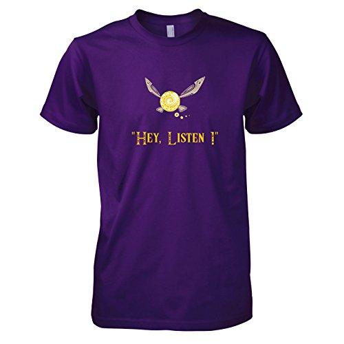 Herren T-Shirt, Größe XXL, Violett ()