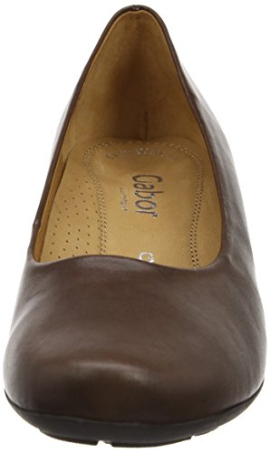 Gabor Brambling L, Damen Pumps Braun (Brown Leather)