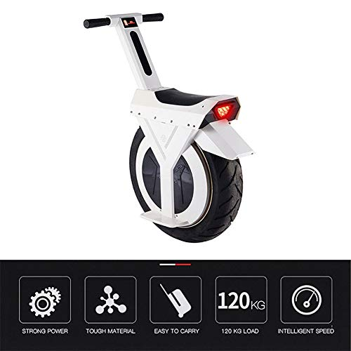ZKORN El Monociclo eléctrico, el Scooter Eléctrico Las Luces de Noche con Autobalanceado Inteligentes Son más Seguras de Velocidad máxima...