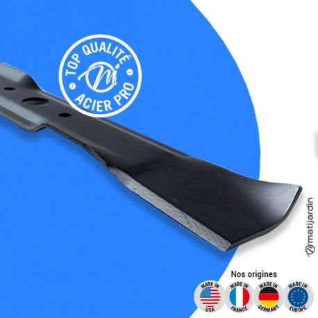 Lame tondeuse pour John Deere LX279 M139976 coupe 54,4 cm - Pièce neuve
