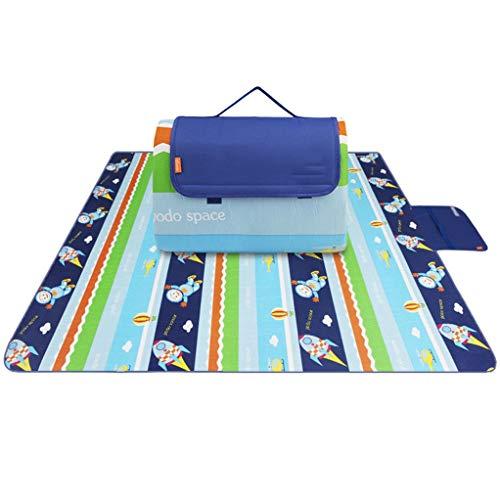 YILIAN Yecandian 200x200 cm umweltfreundliche Wildleder weiche Isolierung Wasserdichte picknickmatte klappzelt pad Baby Feuchtigkeit Spiel pad trainingsmatte (Farbe : K, größe : 200x200cm)