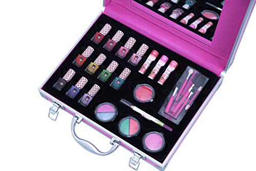 Miss Nella Complete Pink Suitcase- Peel Off