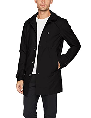 G-STAR RAW Garber Trench, Manteau Homme, Noir (Dk Black 6484), X-Large