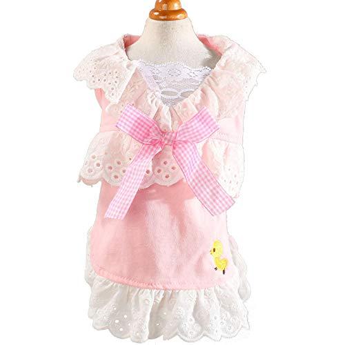 Rock Pink Kostüm Pudel - ZLXUEFL Hundeshirthundet-Shirthaustierkleidunghundekleidungwestent-Shirthundekleidungshemd Haustier Hund Kleidung Kostüm Pettiskirt Tricolor Chick Rock@Pink_S Nummer