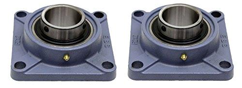 Preisvergleich Produktbild 2 PCS – UCF 204 / SF20 204 20 mm Bohrung,  Gusseisen Flansch Kugellager Einheit selbstausrichtend