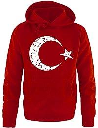 Vintage Comedy Türkei Wappen Herren 2016 Hoodie Em Shirts 7aqwRaXZ