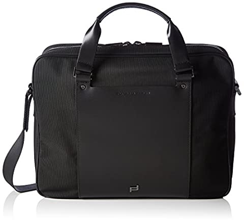 Porsche Design Men's Shyrt-Nylon BriefBag MZ 2 Top-handle Bag Black Size: