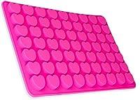 Utilizzando questo stampo in silicone si possono 63piccoli cuori facilmente da produrre-se ad esempio come cubetti di ghiaccio o di cioccolato. Qualsiasi imbottitura si inserisce facilmente e rilassato dalla forma stabile in silicone. La ...